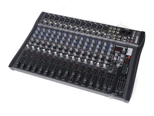 consola mixer moon mc16 16 canales 16 efectos estudio esdj