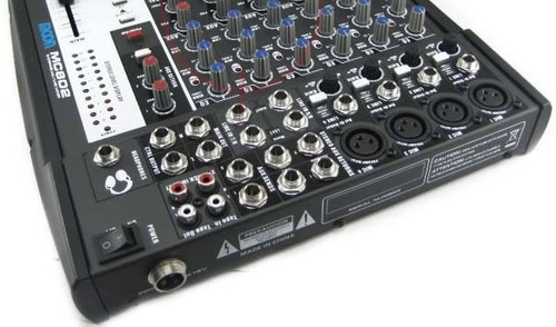 consola mixer moon mc802 8 canales