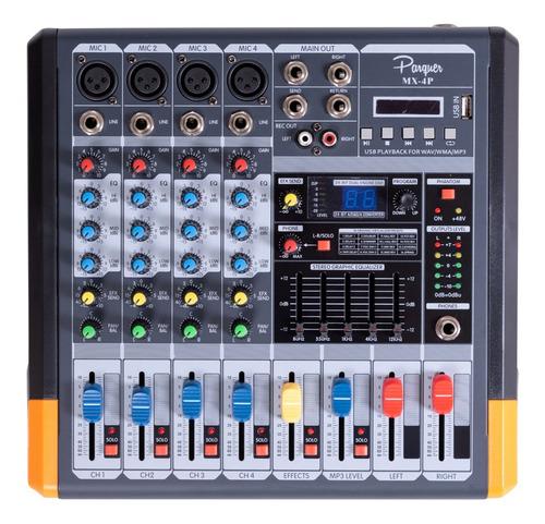 consola mixer pasiva 4 ch phanton dsp efectos mx-4p cuota