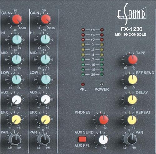 consola mixer profesional