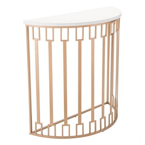 consola modelo bars - dorado këssa muebles