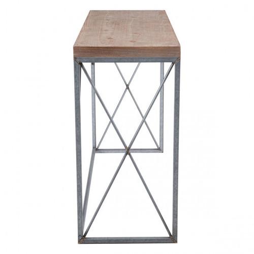 consola modelo escrito - natural këssa muebles