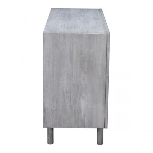 consola modelo raven - gris vintage këssa muebles