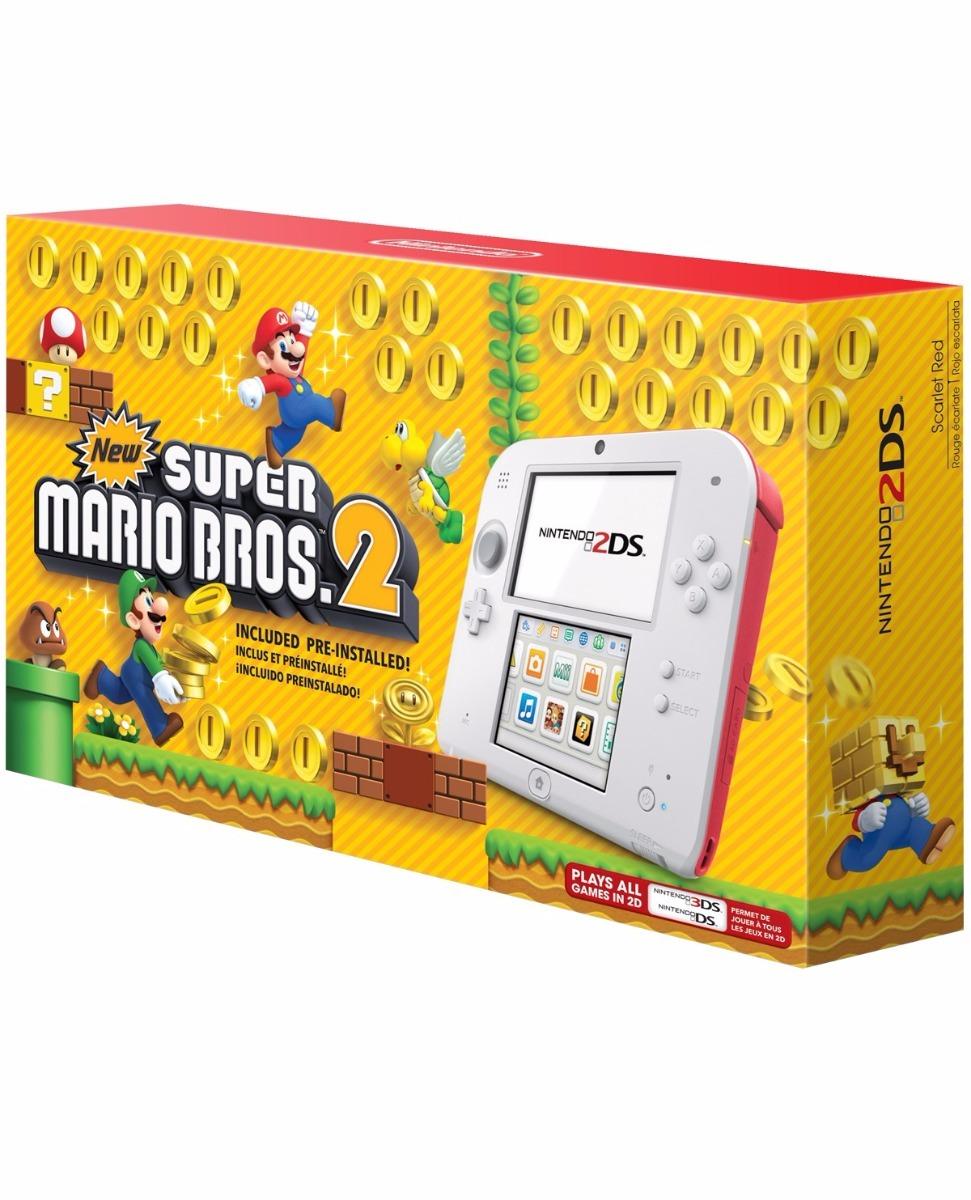 Consola Nintendo 2 Ds Juego Mario Bros 2 Precargado Nueva