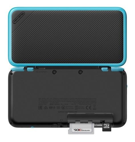 consola nintendo 2ds xl negra y azul nuevo caja sellada