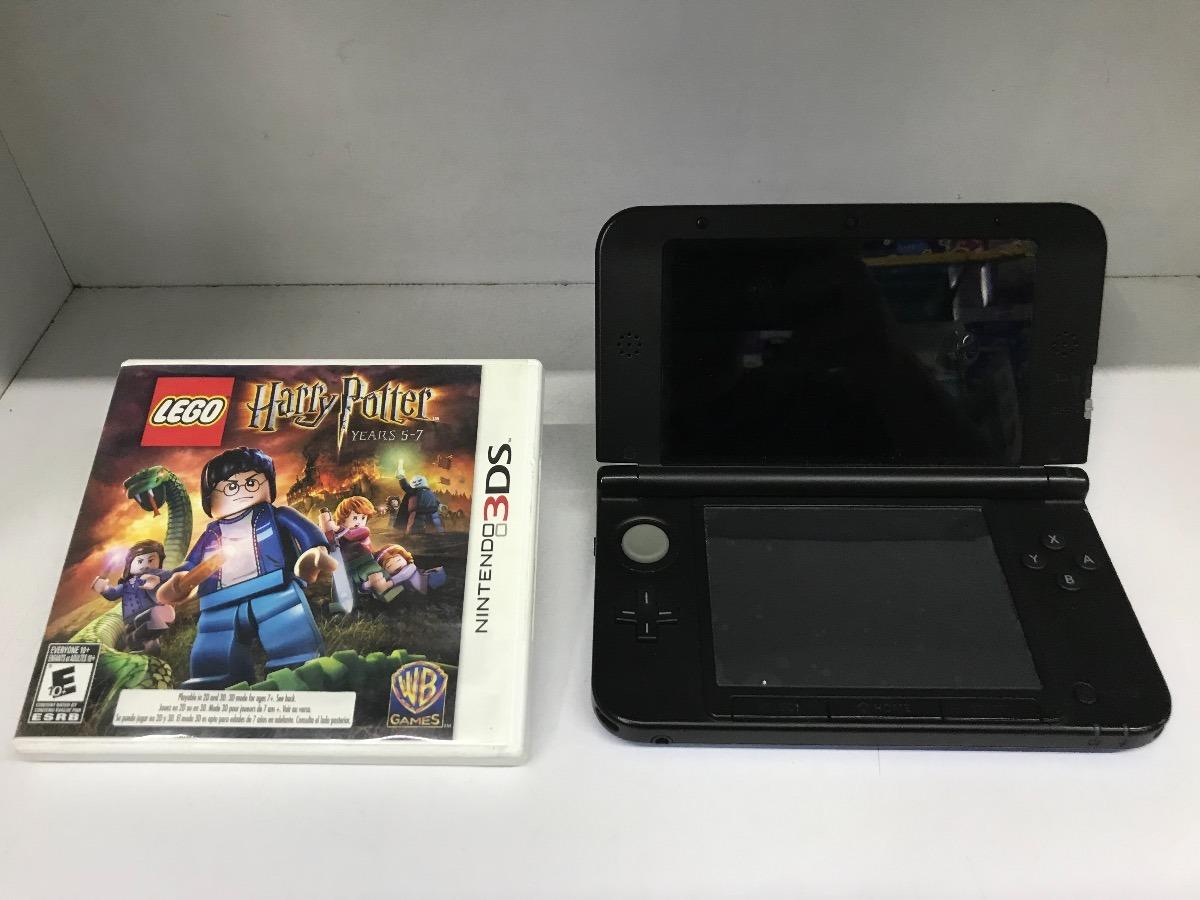 Consola Nintendo 3 Ds Xl Azul Juego Lego Harry Potter 2 800 00