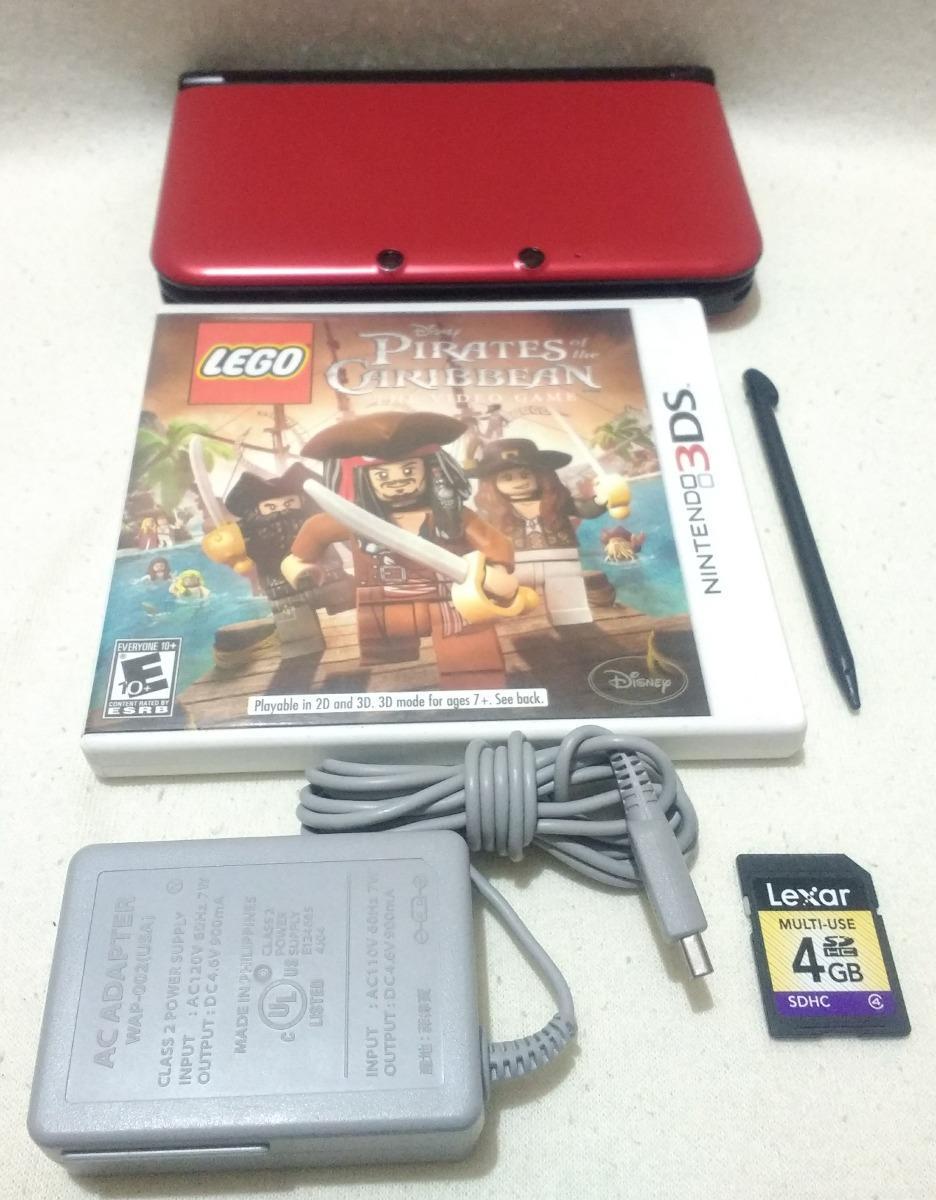 Consola Nintendo 3ds Xl Usado Con Juego Fisico Y Memoria