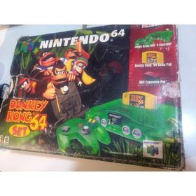 Consola Nintendo 64 Completo Edicion Donkey Kong