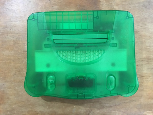 consola nintendo 64 jungle green / verde funtastic series