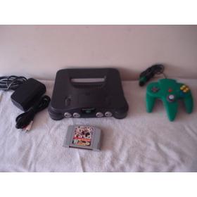 Consola Nintendo 64 Lista Para Jugar