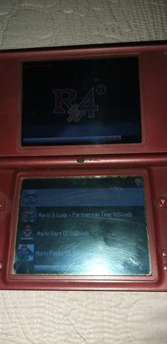 consola nintendo ds xl con r4