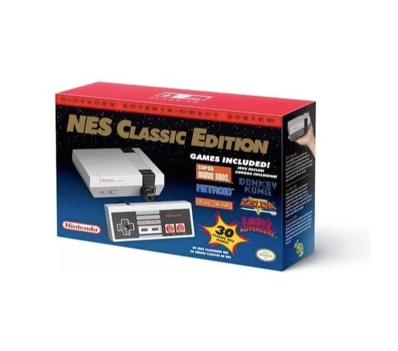 Consola Nintendo Mini Nes Classic Edition 30 Juegos 3 399 00 En