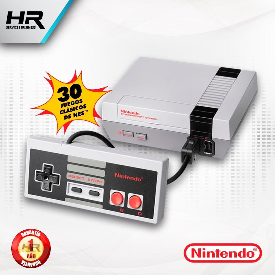 Consola Nintendo Nes Classic Edition Hdmi 1 Mando 30 Juegos S 325