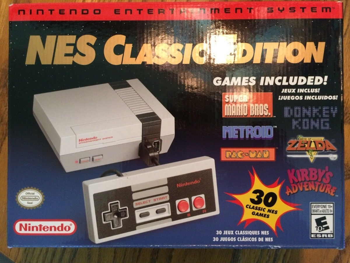 Consola Nintendo Nes Classic Edition Mini Nuevo Original