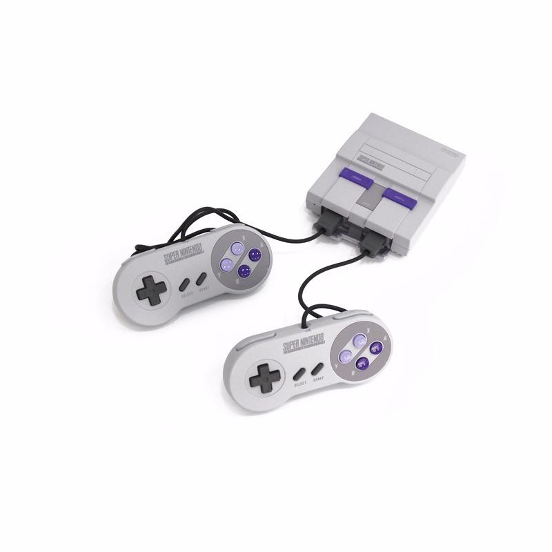 Consola Nintendo Super Nes Classic Edition Juegos Caseros 7 104