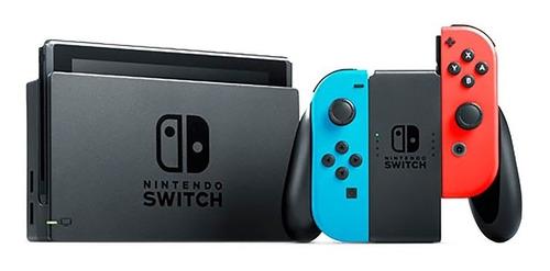 consola nintendo switch 2 controles joy-con nueva rojo azul