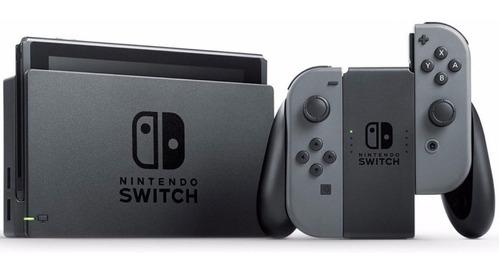 consola nintendo switch 32gb controles joy-con neon gray 18 meses