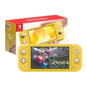 Consola Nintendo Switch Lite Amarillo 2019 !!