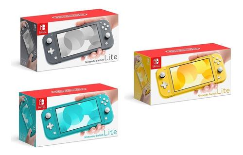 Consola Nintendo Switch Lite Mario Kart 8 Nuevo Jxr