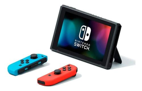 consola nintendo switch neon joy-con nueva version 2019