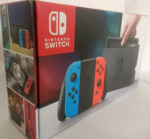 consola nintendo switch nuevo y sellado