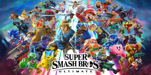 consola nintendo switch super smash bros ultimate