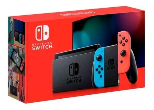 consola nintendo switch v2, modelo 2019