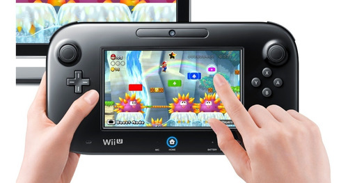 consola nintendo wii u 32gb + juego - refurbished original