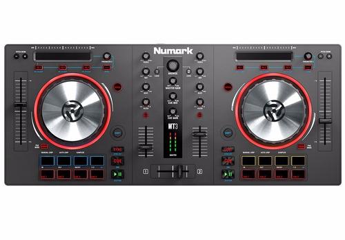 consola numark mixtrack pro 3 dj controlador mixer serato