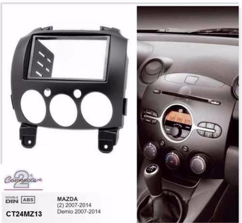 consola o moldura para mazda 2 modelo  2008
