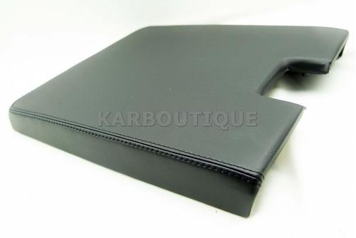 consola para yukon 07-13 vinil negro costura negra.