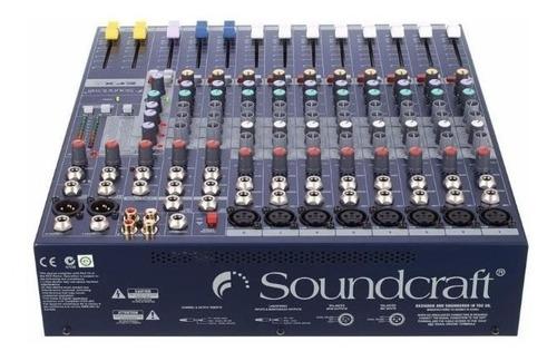 consola pasiva con efectos efx8 soundcraft profesional