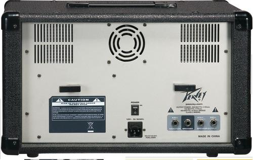 consola peavey pvi 8b plus mezclador autoamplificado