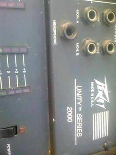 consola peavy de 12 canales
