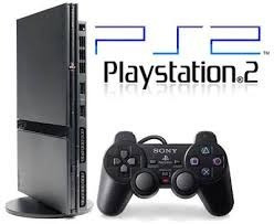 consola playstation  2  completa chipeada +fifa+pes2017
