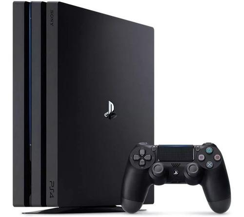 consola playstation 4 pro 1tb 1 control 4k 1 año garantia