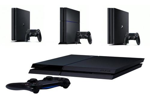 consola playstation 4 ps4 slim 1 tera 3 juegos fisicos
