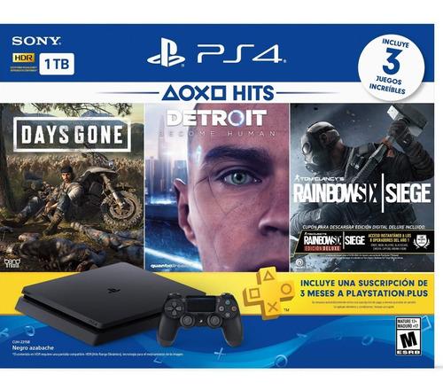 consola playstation 4 ps4 slim 1tb hits bundle 5
