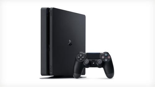 consola playstation slim 1tb ps4 + fifa 18 + ps plus 3 meses