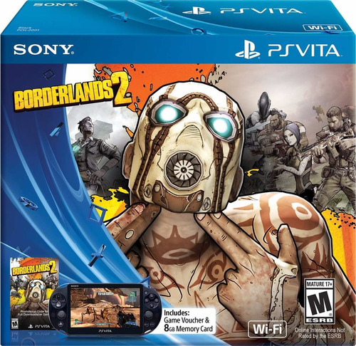 consola playstation vita bundle borderlands 2 limitededition