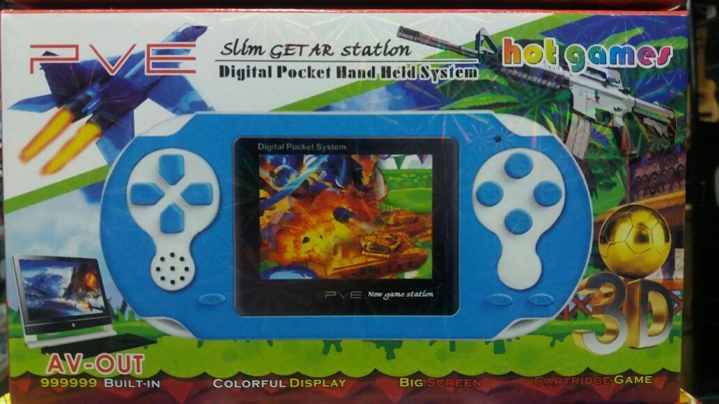 Consola Portable Pve Av Out 999999 Juegos Hot Games Ec85384 689