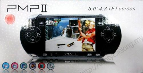 consola portatil 3.0 1gb 32bit pmpii snes, nes, sega, arcade