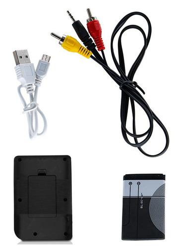 consola portatil 400 juegos pantalla 3 pulgadas lcd color