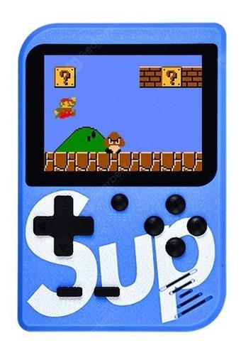 consola portatil juegos  sup game box retro 400 en 1