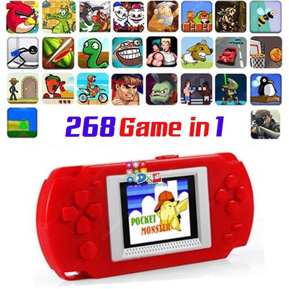 Consola Portatil Lcd Juegos Family Mario Pacman Mira Video 850