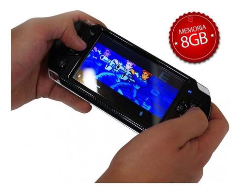 consola portatil mp5 4.5 3000 juegos snes nes sega arcade