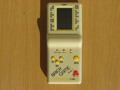 Consola Portatil Pantalla Lcd Y Sonido 8 Juegos Tetris 310 00