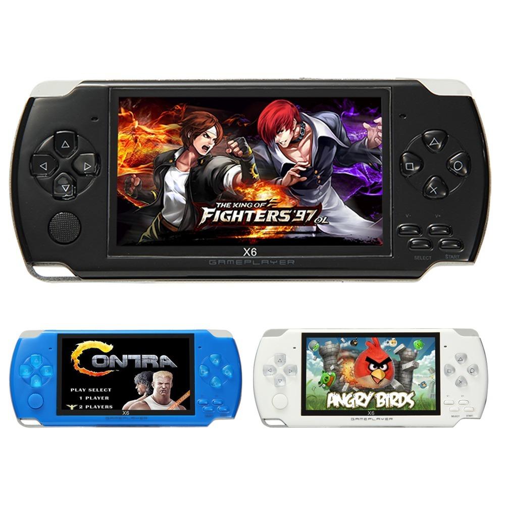 Consola portatil tipo psp m s de 100 juegos juegos retro for Consola de tipo industrial