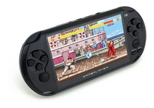 consola portatil x9, 800 juegos retros, salida a tv, 8gb