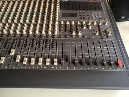 consola prof. tascam m2516- made in japan.en tucuman